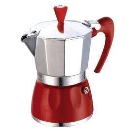 G.A.T. Delizia kotyogós kávéfőző 6 csésze - Piros