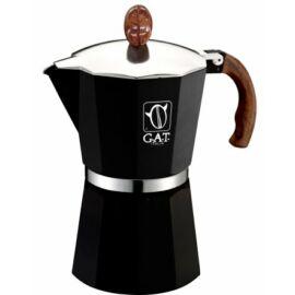 G.A.T. Magnum kotyogós kávéfőző 48 csésze - Fekete