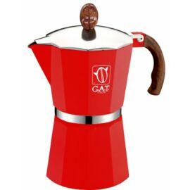 G.A.T. Magnum kotyogós kávéfőző 48 csésze - Piros