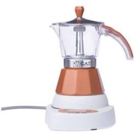 G.A.T. Vintage Elektromos kávéfőző 4 csésze - Barna