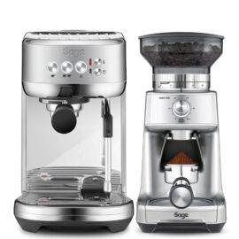 Sage SES500BSS THE BAMBINO™ PLUS Kávéfőző + Sage BCG600SIL Dose Control Pro kávédaráló