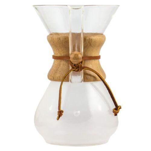 Chemex 6 csészés klasszikus fa fogantyúval