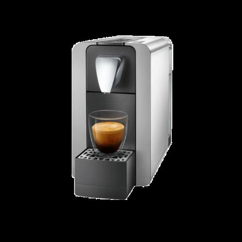 Cremesso Compact One II Kávégép - Fényes Ezüst + Ajándék Tejhabosító