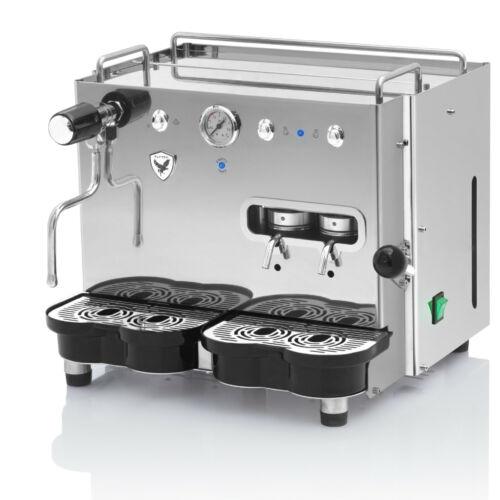 Flytek Steel Pro 2 fejes - Professzionális POD-os kávéfőző