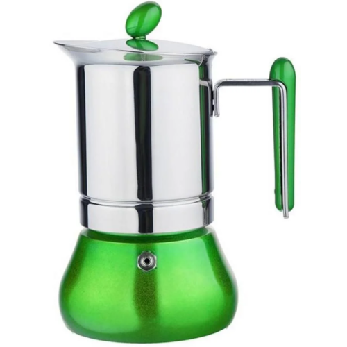 G.A.T. Annetta kotyogós kávéfőző 4 csésze - Zöld