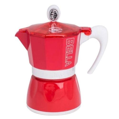 G.A.T. Bella kotyogós kávéfőző 3 csésze - Piros