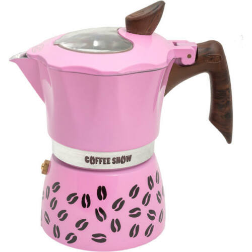 G.A.T. Coffee Show kotyogós kávéfőző 2 csésze - Pink