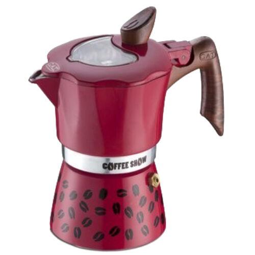 G.A.T. Coffee Show kotyogós kávéfőző 2 csésze - Piros