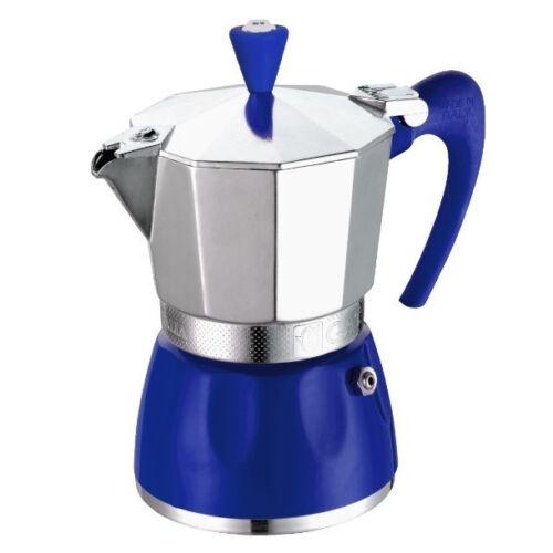 G.A.T. Delizia kotyogós kávéfőző 6 csésze - Kék