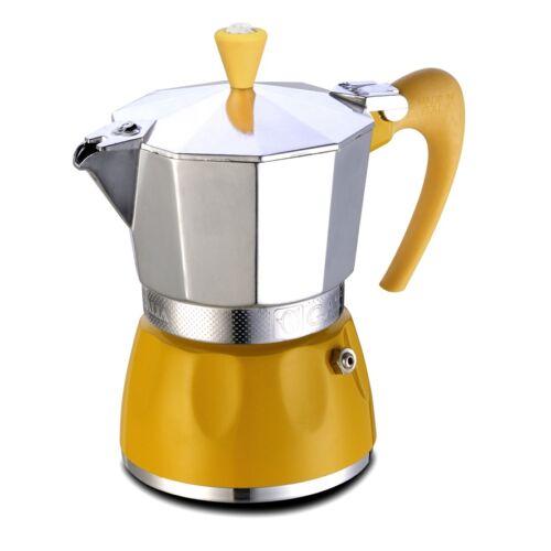 G.A.T. Delizia kotyogós kávéfőző 6 csésze - Sárga