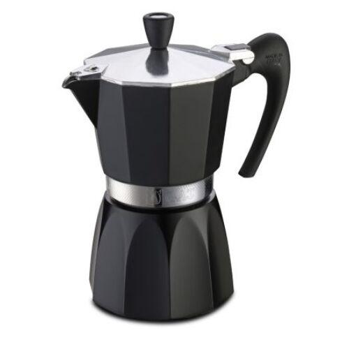 G.A.T. Fashion Black kotyogós kávéfőző 3 csésze - Black
