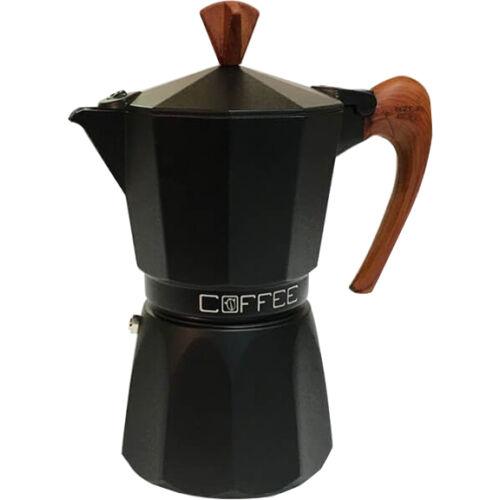 G.A.T. Fashion Black kotyogós kávéfőző 3 csésze - Wood