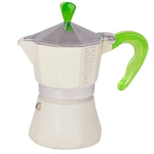 G.A.T. Kiss Me kotyogós kávéfőző 3 csésze - Zöld