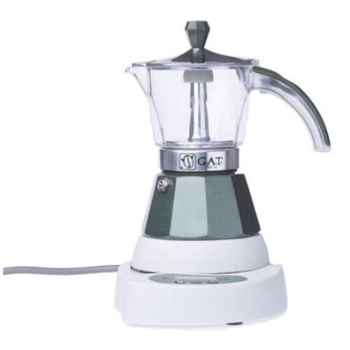 G.A.T. Vintage Elektromos kávéfőző 4 csésze - Zöld