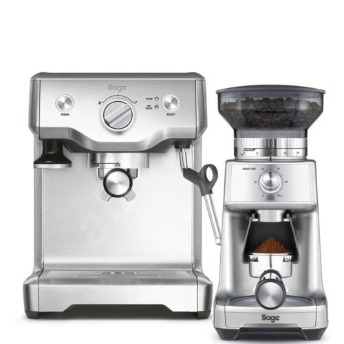 Sage BES810 Duo Temp PRO + Sage BCG600SIL Dose Control Pro kávédaráló