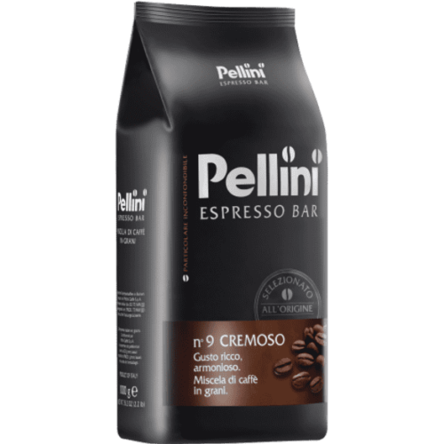Pellini N.9 Espresso Bar CREMOSO szemes kávé 1kg