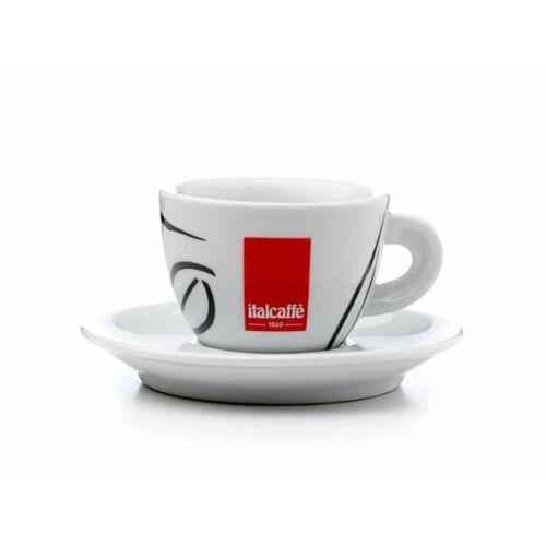 Italcaffe porcelán Cappuccino csésze + csészealj  6db